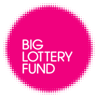 Big Lottery Fund pink round logo