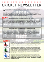 EBGC Cricket Newsletter Jan 2015