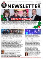 EBGC Club Newsletter December 2015