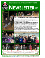 EBGC Club Newsletter Winter 2013
