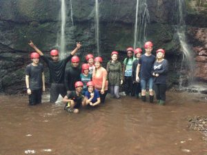 Picture of young people Gorge Walking