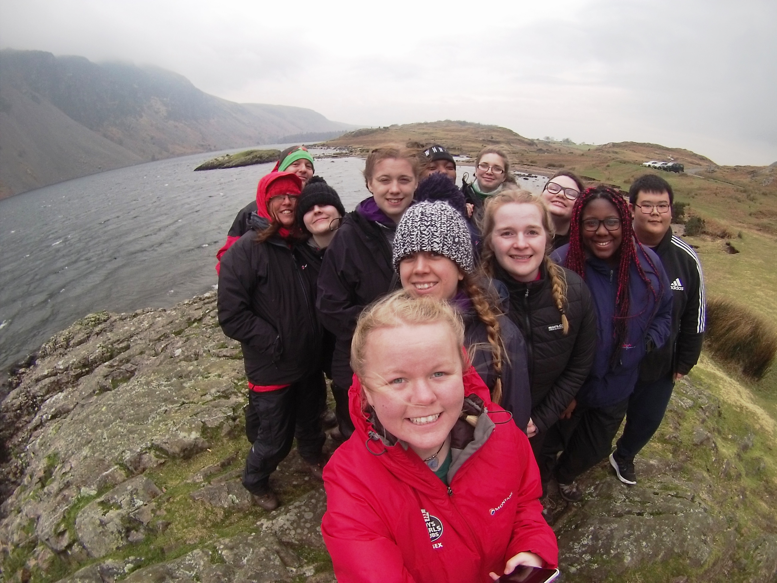 EBGC VTEAM in the Lake District on a Reward Residential. Picture located at the deepest lake in England