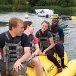Young people at Essex Adventure Weekend 2018
