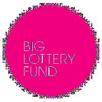 Big Lottery Fund pink round logo