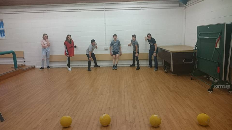 Young People in a youth club session